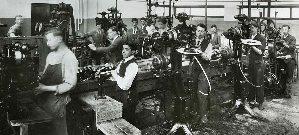 Robinson schoenfabriek (1930)