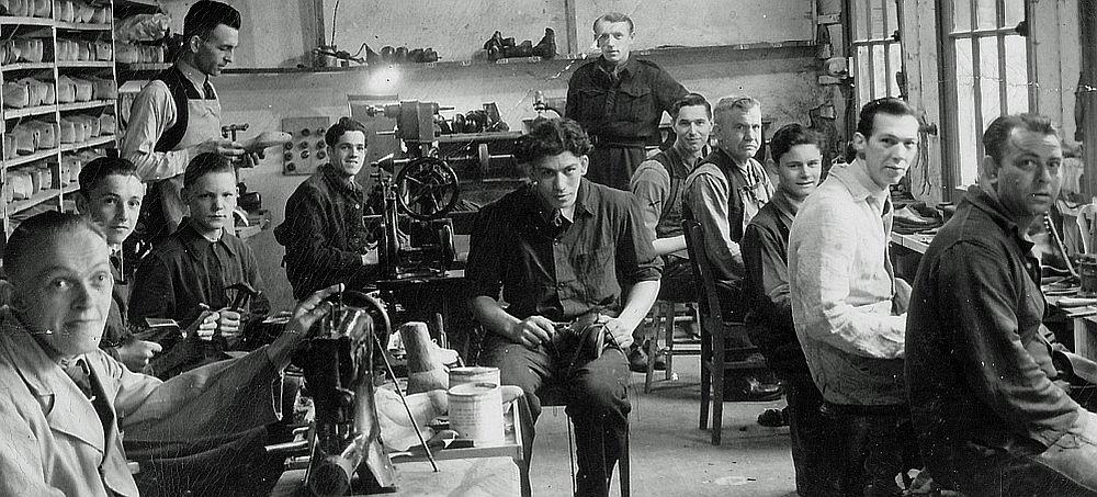 Orthopedische schoenmakerij Fa. Grol (1940-1950)